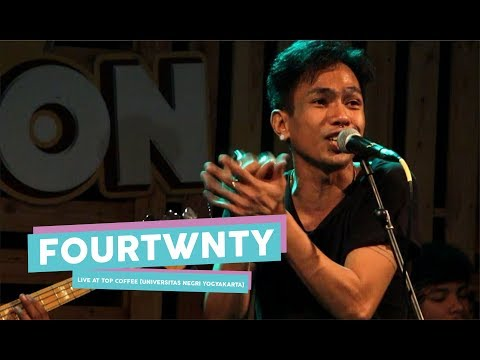[HD] Fourtwnty - Zona Nyaman (Live at TOP COFFEE, Yogyakarta 2017)