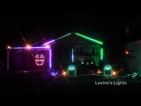 2016 Halloween Light Show: HEATHENS