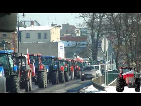 Strajk Rolników 2011- Najazd Na Bydgoszcz