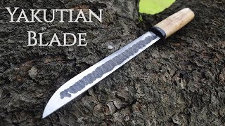 Knife making - Forging a Long Yakutian knife
