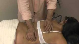 thoracic spine: massage therapy 1