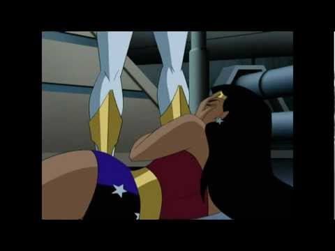 Wonder Woman superheroine catfight vs Arisia and Star Sapphire
