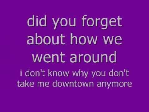 lady antebellum-downtown lyrics