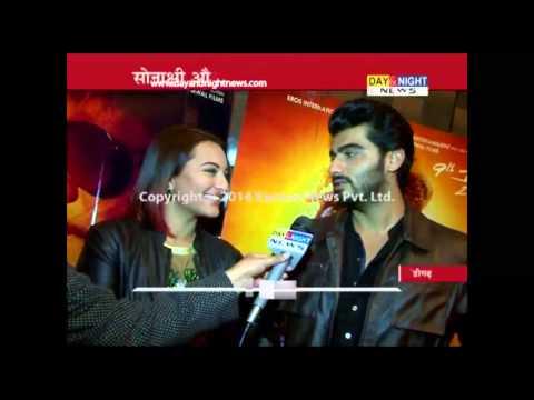 Arjun Kapoor and Sonakshi Sinha promote their upcoming film | Tevar | Chandigarh