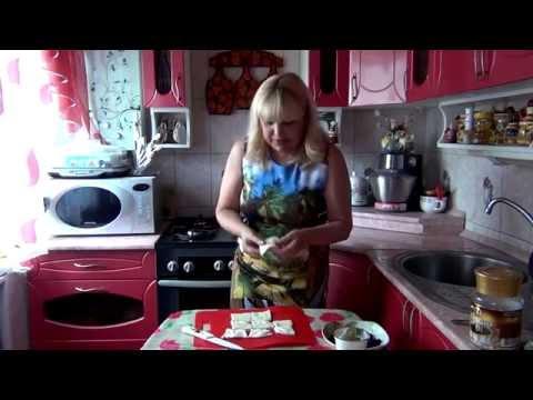 Слоеные пирожные с малиной и чёрной смородиной! Puff pastries with raspberries!