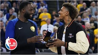 Draymond presents Nick Young with championship ring, Warriors get a delay of game  | NBA on ESPN