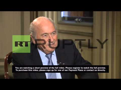 Russia: Blatter lauds Russian preparation for 2018 World Cup as
