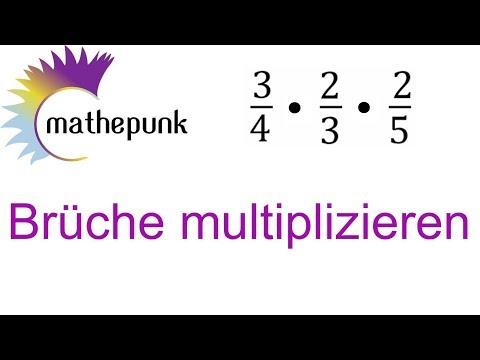 Brüche multiplizieren