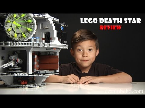 LEGO DEATH STAR Part 3 - Review of Lego Star Wars Set 10188 in 1080p HD