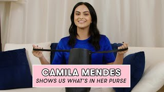 Camila Mendes Reveals the Beauty Products She Never Leaves Home Without | What's In My Purse