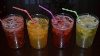 Cócteles refrescantes sin alcohol