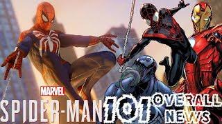 Spider-Man PS4: 101 - Sequel Info, DLC Details, MGU, Co-Op, & More!!! Overall News Update!!!