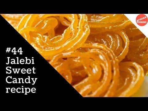Jalebi Recipe - Jalebi Afghani 'Afghan Cuisine' جلبی افغانی