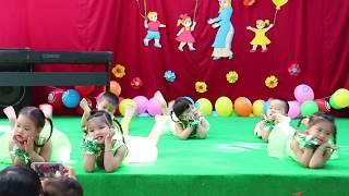 Văn nghệ Doremi - Múa bé khỏe bé ngoan - Com nhim family
