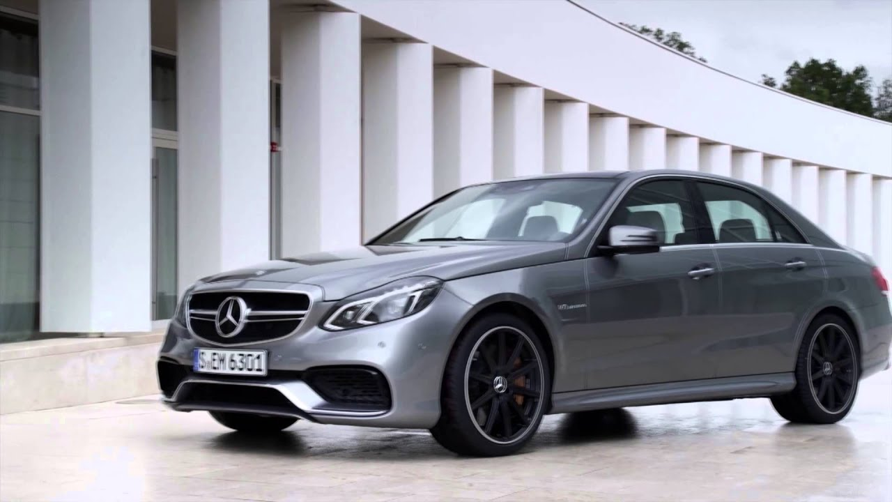 Redesigned 2014 mercedes benz e63 amg v8 biturbo youtube for Mercedes benz v8 amg