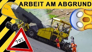 Arbeiten in 70% Gefälle! Staudamm Sanierung | Zeppelin Rental ON THE JOB