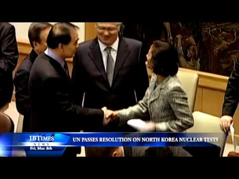 UN Passes New Resolution On North Korea Nuclear Test