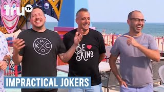 Impractical Jokers - No Finger Tipping (Punishment) | truTV