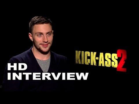 Kick Ass 2: Aaron Taylor Johnson Official Interview