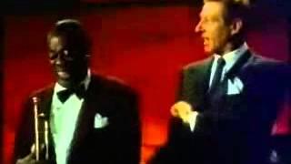 louis armstrong, danny kaye scat singing