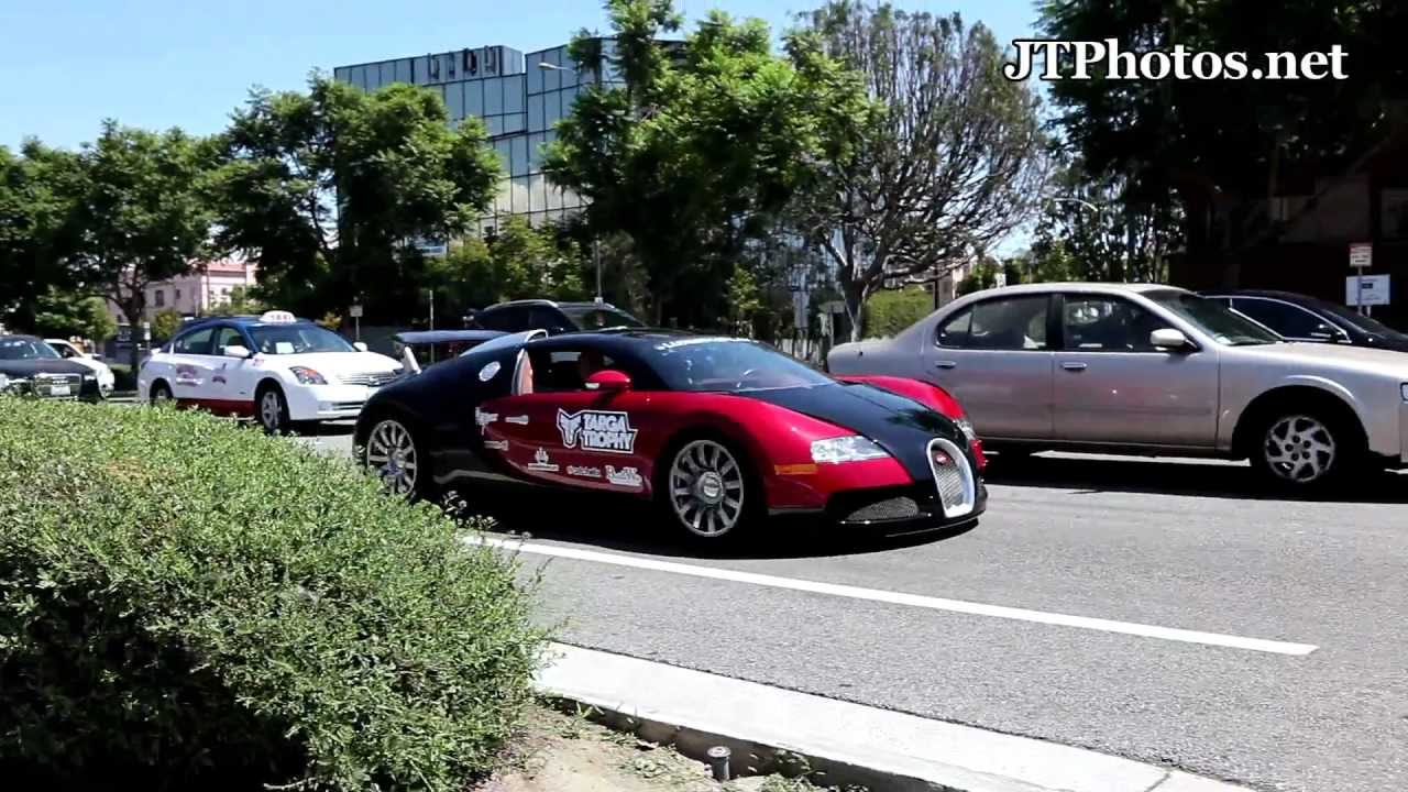 bugatti veyron cruising by in los angeles youtube. Black Bedroom Furniture Sets. Home Design Ideas