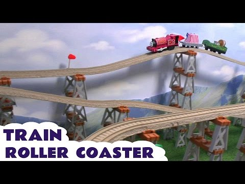 Thomas And Friends Play Doh Roller Coaster Skarloey's Puppet Show Toy Train Thomas Y Sus Amigos Doh video