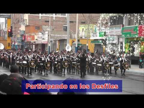 Presentación de la Banda En Pisco colegio Marilllac