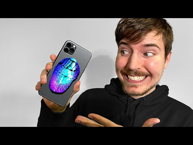 Surprising MrBeast With A Custom iPhone 11!!📱📞 (Giveaway) thumbnail