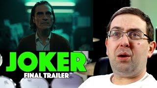 REACTION! Joker Final Trailer - Joaquin Phoenix Movie 2019