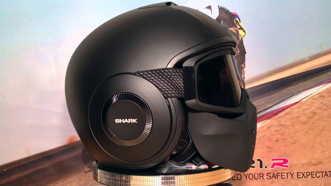shark raw matt black shark motorcycle helmets. Black Bedroom Furniture Sets. Home Design Ideas