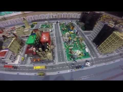 I LUG BN KB Lego town/city/train Display 2014 SMSA Brunei gopro
