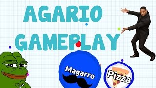 AGARIO SOLO GAMEPLAY - CHALLENGE ACCEPTED