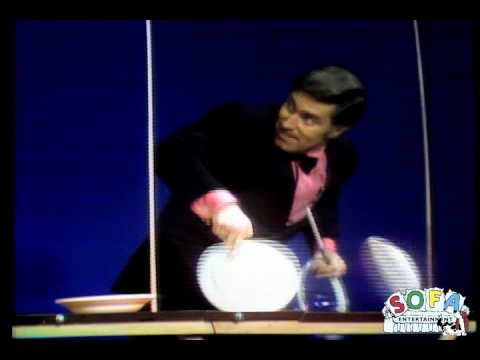 "Erich Brenn ""Plate Spinning"" on The Ed Sullivan Show"