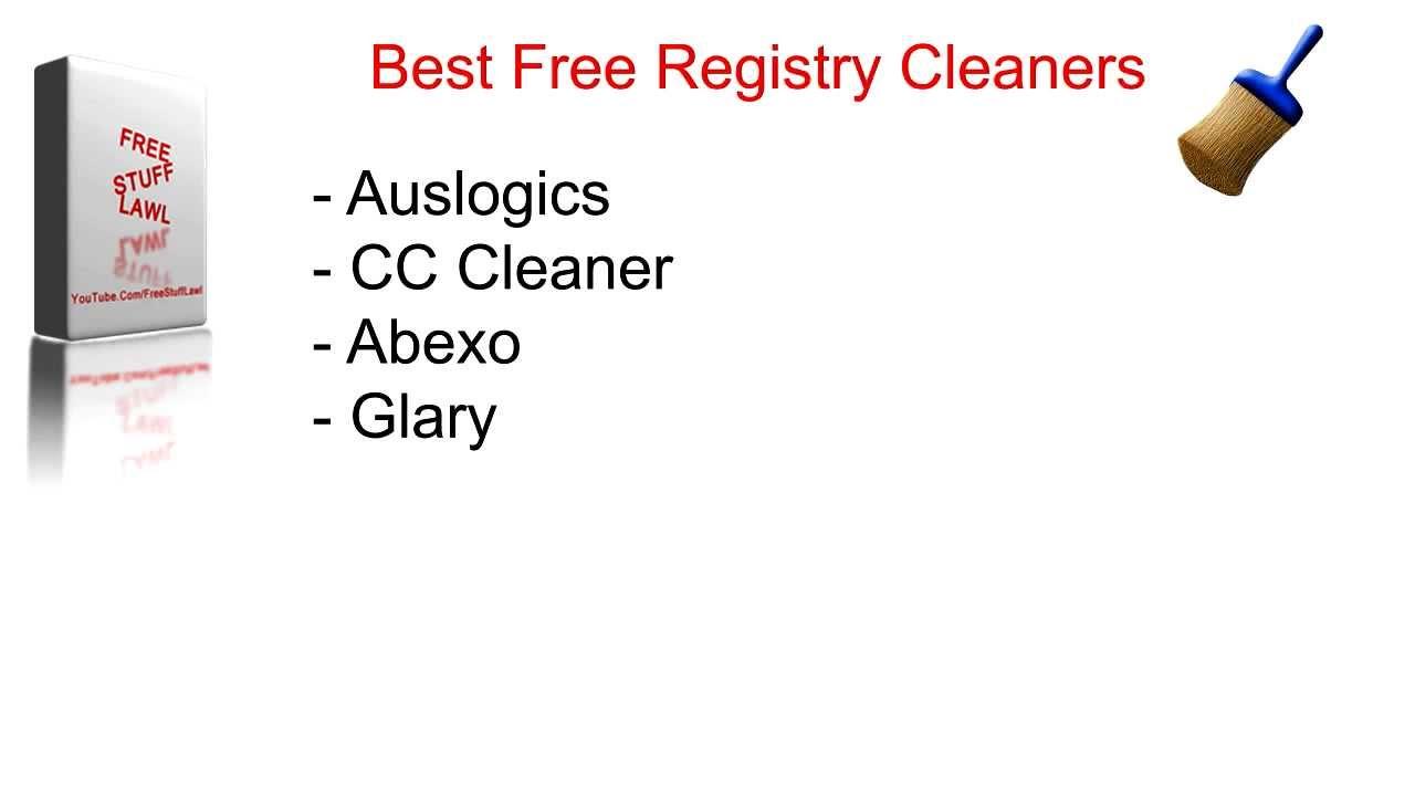 how to clean registry windows vista free