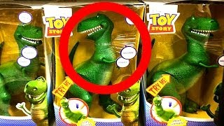 Toy Story Rex Dinosaur Toys Come To Life & Woody Purchased