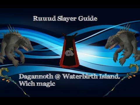 Runescape Slayer Guide Dagannoth @ Waterbirth Island EOC