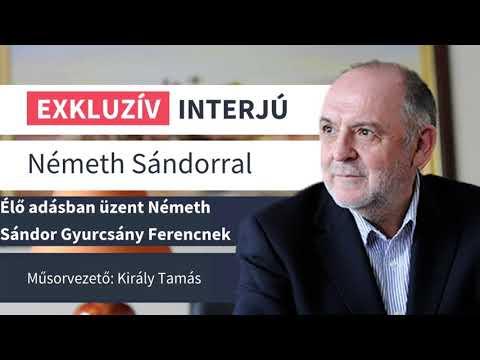 Élő adásban üzent Németh Sándor Gyurcsány Ferencnek