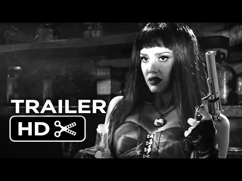 Sin City: A Dame To Kill For Official Trailer #2 (2014) - Jessica Alba, Eva Green Movie Hd video