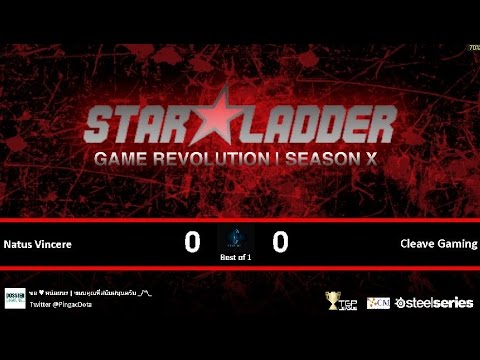 Dota2 - Cleave Gaming vs Natus Vincere [SLTV-X] Caster Pingac