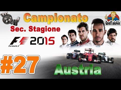 F1 2015 - Gameplay ITA - Logitech G27 - Campionato #27 - Austria