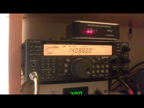 Kenwood ts-570D and interface SB-2000 MK2 CGAntenna EA3FAR