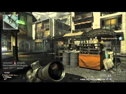 Mw3 Sniper Tips 2 - OpTic Predator