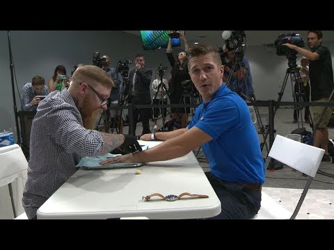 Wisconsin company started microchipping its employees; WISN 12's Tim Elliott found out how it worked