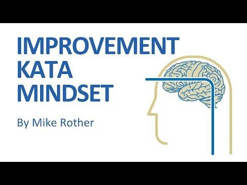 The Improvement Kata Mindset video