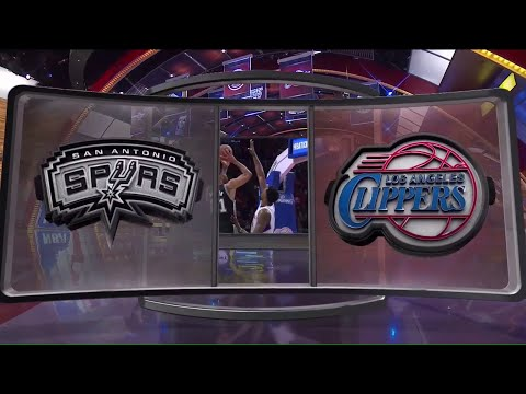 [Playoffs Ep. 4] Inside The NBA (on TNT) Halftime – Spurs vs. Clippers Highlights - Game 2 - 4-22-15
