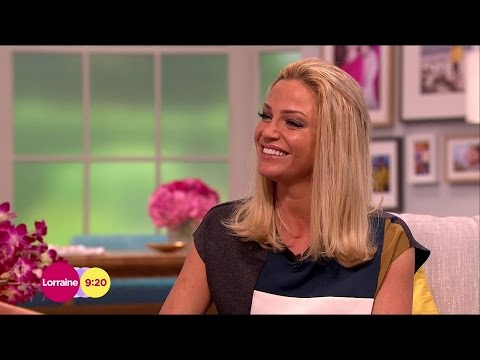 Sarah Harding - [Full HD] Lorraine Interview about Tumble - 4 Sep 14