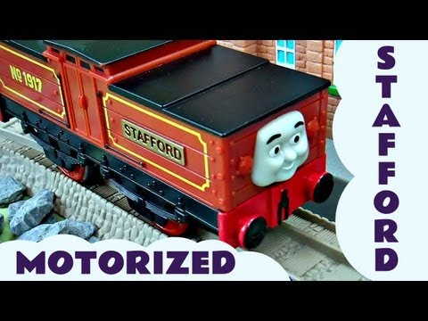 Trackmaster Thomas & Friends Stafford Kids Toy Train Set Thomas The Tank Engine