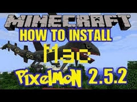 Minecraft: How To Install Pixelmon Mod [1.7.4] (Mac)