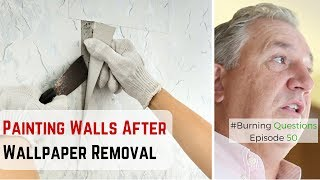 Painting Walls After Removing Wallpaper | Interior Painting Contractors from Naperville