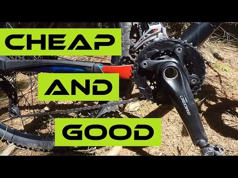 Why I Love The Budget Bike Components. Like Shimano Deore... Test